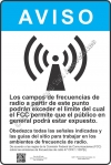 12x18 RF NOTICE SPANISH Sign